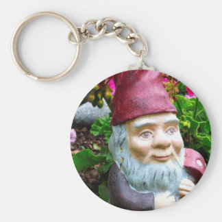 Garden Gnome Key Ring