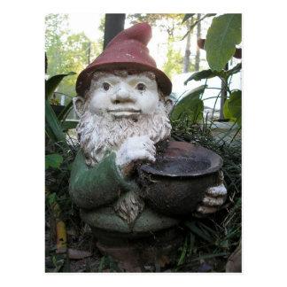 Garden Gnome Postcard