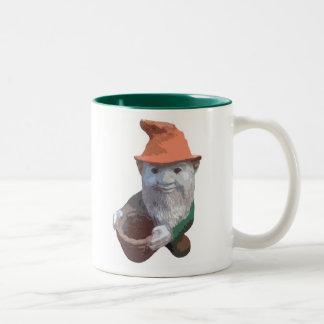 Garden Gnome Two-Tone Mug
