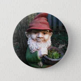 Garden Gnomes 6 Cm Round Badge