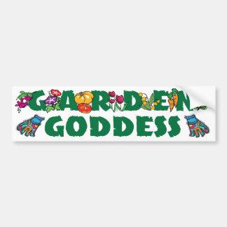 Garden Goddess Bumper Sticker