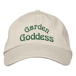 Garden Goddess Funny Embroidered Cap