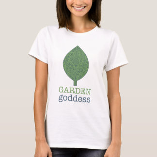 Garden Goddess Paisley Ladies Baby Doll T-Shirt