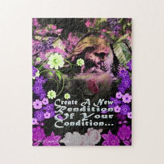 Garden Goddess Rendition Puzzle