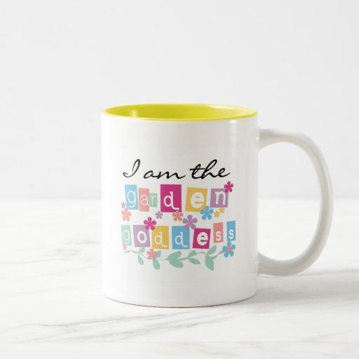 Garden Goddess Tshirts and Gifts Coffee Mugs