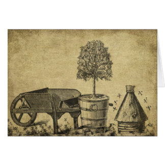 Garden Goods- Prim Lil Note Cards