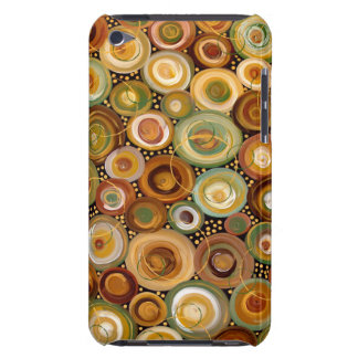 Garden Greens Abstract  Art Painting iPod Case-Mate Cases