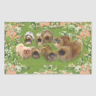 Garden Group Rectangular Sticker