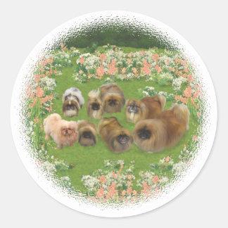 Garden Group Round Sticker