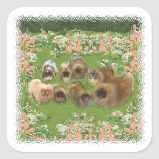 Garden Group Square Sticker