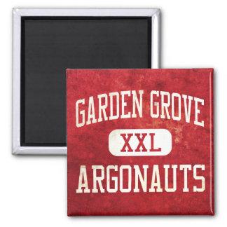 Garden Grove Argonauts Athletics Square Magnet
