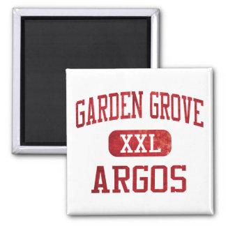 Garden Grove Argos Athletics Square Magnet