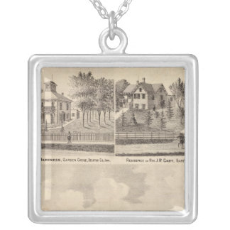 Garden Grove Herd, Pryor Silver Plated Necklace
