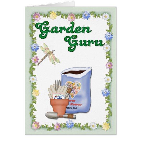 Garden Guru Card