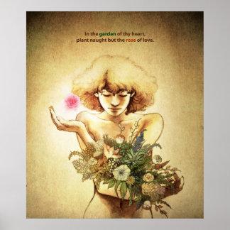 Garden Heart Posters