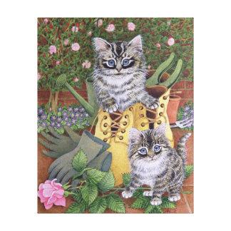 Garden Helpers Canvas Print