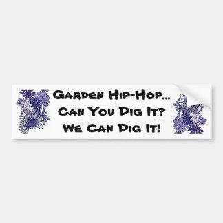 Garden Hip-Hop Song Bumper Sticker