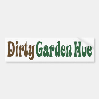 Garden Hoe - Customized Bumper Sticker