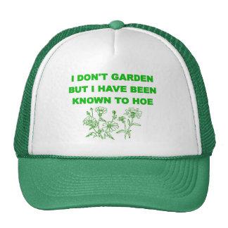 Garden Hoe Hats