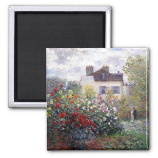 Garden in Giverny by Claude Monet Fine Art Magnet