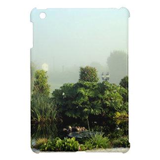 Garden in mist, Arzua, Spain iPad Mini Covers
