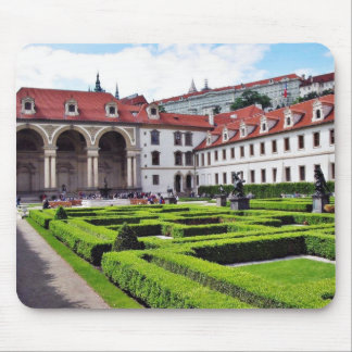 Garden In Prague Mouse Mat