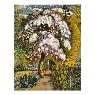 Garden In Shoreham By Palmer Samuel (Best Quality) Custom Flyer