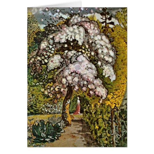 Garden In Shoreham By Samuel Palmer Card