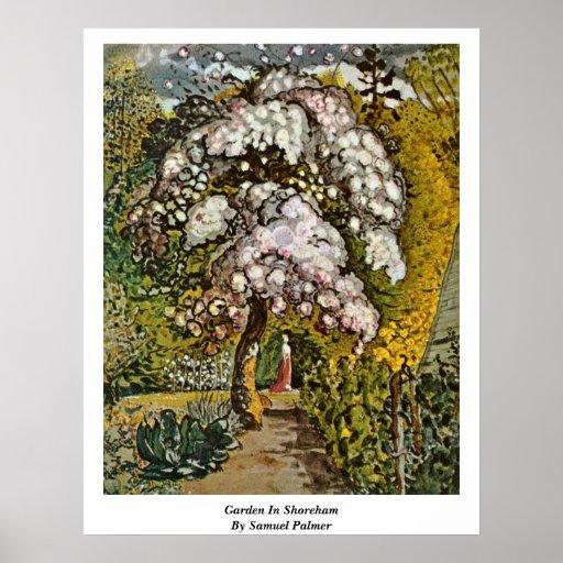 Garden In Shoreham By Samuel Palmer Poster