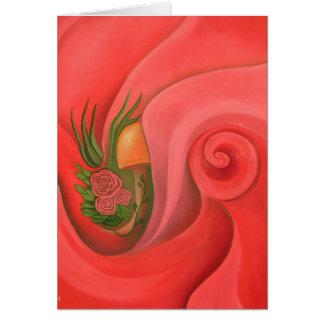 Garden in the Rose Card