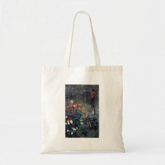 Garden in the street Cortot, Montmartre by Renoir Budget Tote Bag