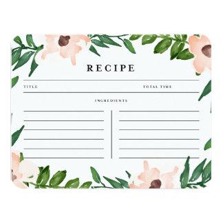 Garden in White | Recipe Card
