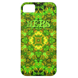 """""""Garden Inlay"""" cell-phone skin (""""Hers"""") Case For The iPhone 5"""