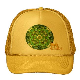 """Garden Inlay"" ""Mandala Mandarin"" logo Cap"