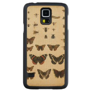Garden Insects by Vision Studio Maple Galaxy S5 Slim Case