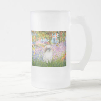 Garden - Japanese Chin (L2) Frosted Glass Mug