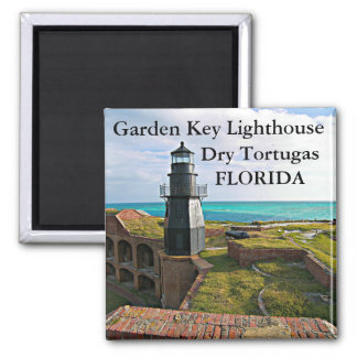 Garden Key Lighthouse, Dry Tortugas FL Magnet