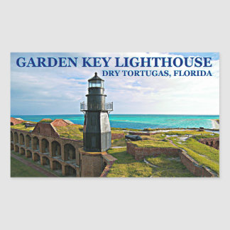 Garden Key Lighthouse, Dry Tortugas FL Stickers