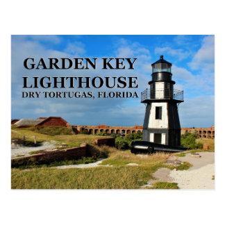 Garden Key Lighthouse, Dry Tortugas, Florida Postcard