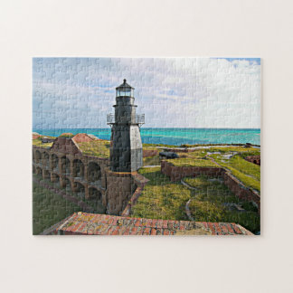 Garden Key Lighthouse, Dry Tortugas Florida Puzzle