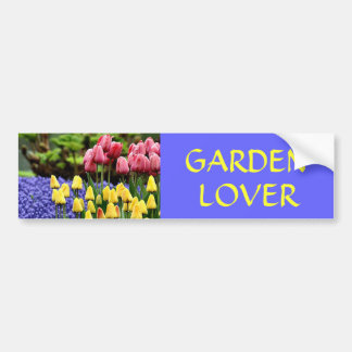 GARDEN  LOVER BUMPER STICKER