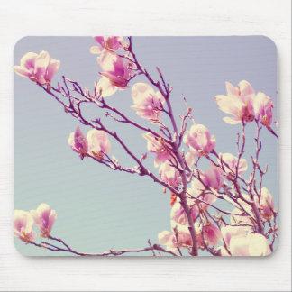 Garden Magnolias Mouse Pad