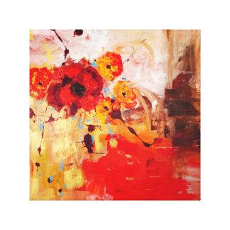 Garden. Modern Art. Canvas Prints
