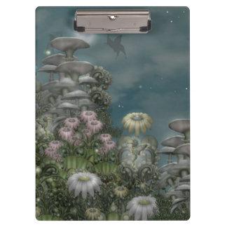 Garden moonrise -- (mushroom club) clipboard