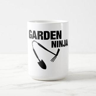 Garden Ninja Mug! Basic White Mug