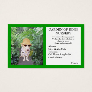 Garden Nursery Business Business Card