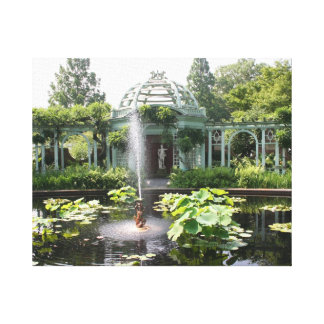 Garden Oasis Stretched Canvas Prints