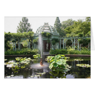 Garden Oasis Notecard
