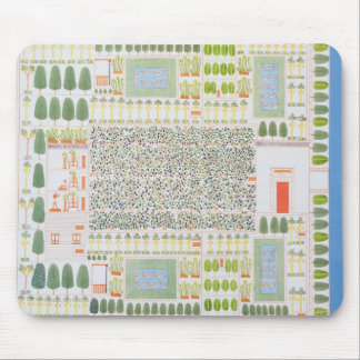 Garden of a High Ranking Egyptian Dignitary, from Mouse Mat
