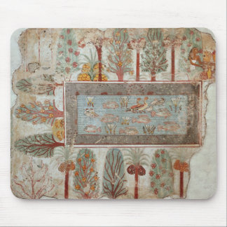 Garden of a private estate with an ornamental mousepads